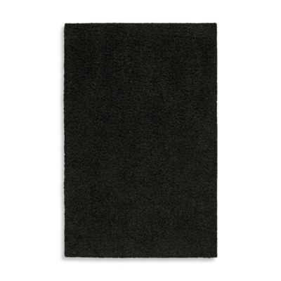 Shaw Affinity Collection Onyx Shag 8-Foot x 10-Foot Rectangle Rug