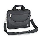 Sumdex Passage Series Compact 12.1-Inch Computer Briefcase in Black