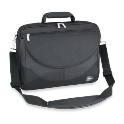 Sumdex Passage Series Compact 15.6-Inch PC Computer or 15-Inch MacBook Pro® Briefcase in Black