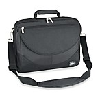 Sumdex® Passage Series Compact 15.6-Inch PC Computer/15-Inch MacBook Pro® Briefcase in Black