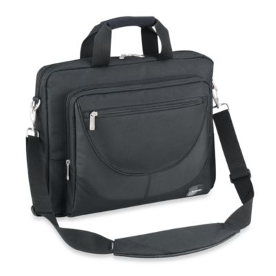 "Sumdex Passage Series 15.6"" Computer Briefcase - Black"