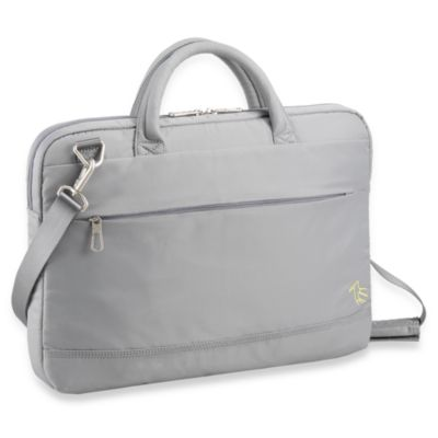 Sumdex® NeoMetro III Series Link Slim Briefcase for15-Inch MacBook Pro®/15.6-Inch PC in Grey