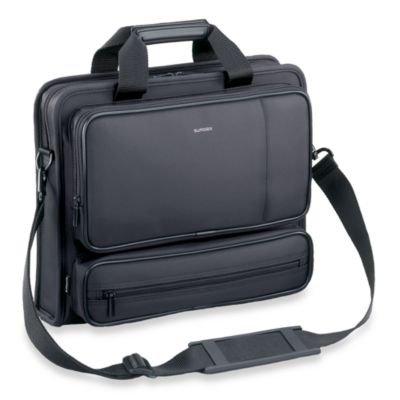 Sumdex® MicroTex Series Nylon 13.3-Inch Computer Briefcase in Black