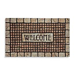 Mosaic Terracotta Rubber Doormat