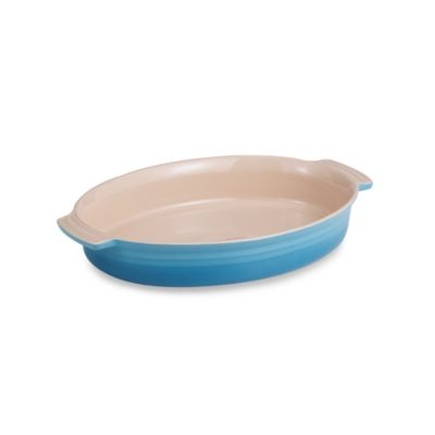 Le Creuset® 3 3/4-Quart Oval Dish in Caribbean Blue