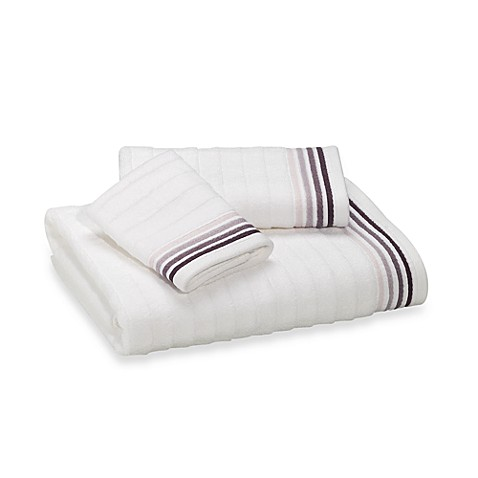 DKNY Urban Tide Hand Towel in White