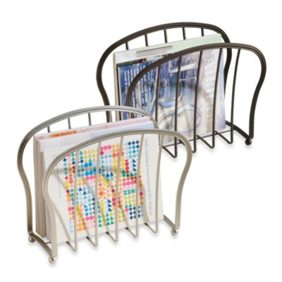 InterDesign® Astoria Magazine Rack in Oil Rubbed Bronze Finish
