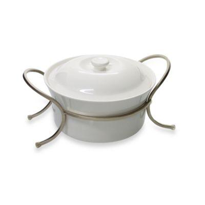 10 Strawberry Street Proteus 8 1/2-Inch Round Casserole Dish
