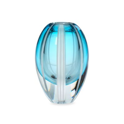 Evolution by Waterford® Aqua Haze 7-Inch Crystal Vase