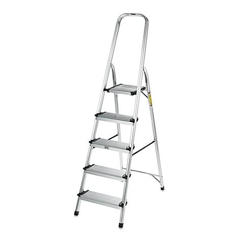Buy Polder 174 5 Step Ultra Light Step Ladder In Aluminum