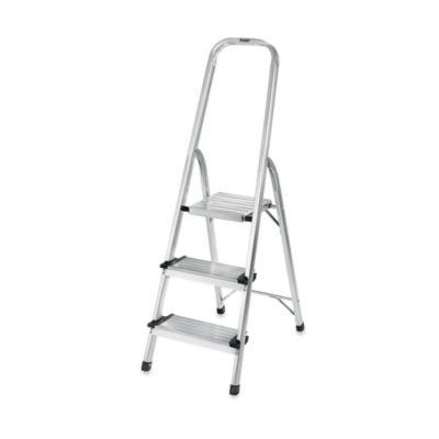 Polder® 3-Step Ultra Light Step Ladder in Aluminum