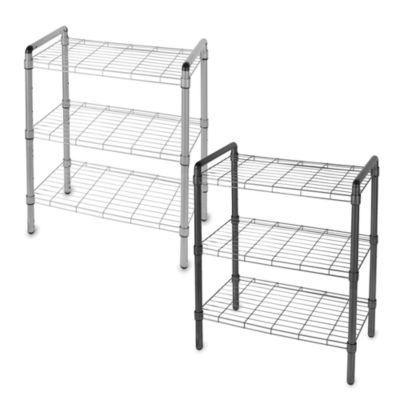 Black Adjustable Storage Shelves