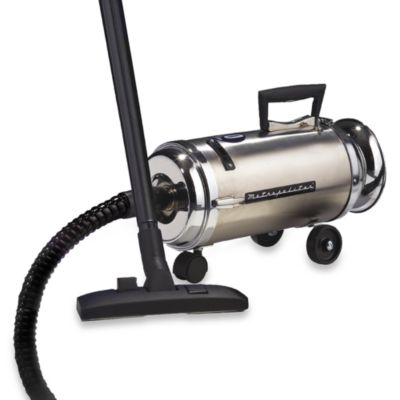 Metro® Metropolitan Professional Stainless Steel Compact Canister Vacuum