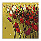 Tulip Drift Green Wall Art