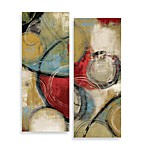 Elemental Circles 2-Piece Wall Art Set