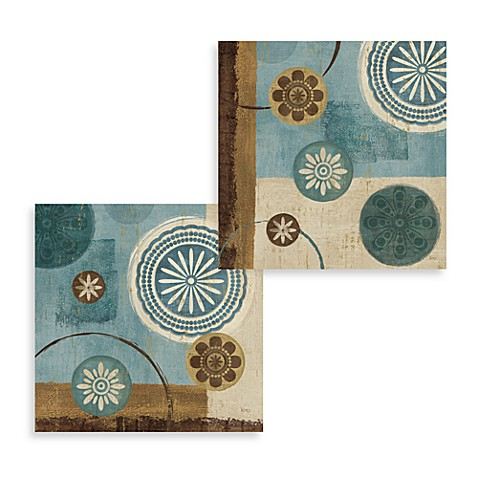 New Generation Blue Wall Art (Set of 2)