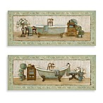 My Peaceful Bath Wall Art (Set of 2)