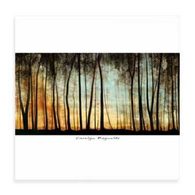 Golden Forest Wall Art