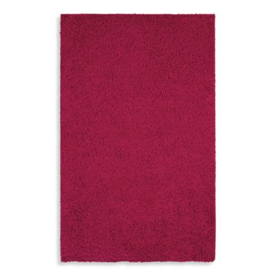 Shaw Affinity Collection Shag Rectangle Rugs in Cabaret