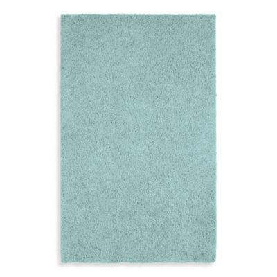 Shaw Affinity Collection Shag Rectangle Rugs in Glacier