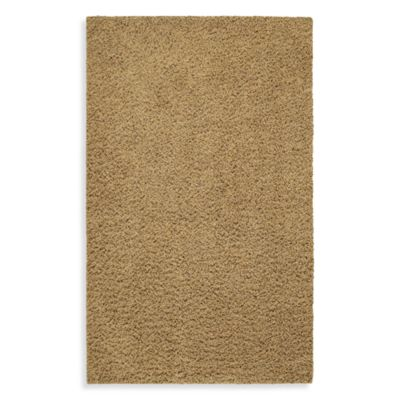 Shaw Affinity Collection Shag 5-Foot x 8-Foot Rug in Goldenrod