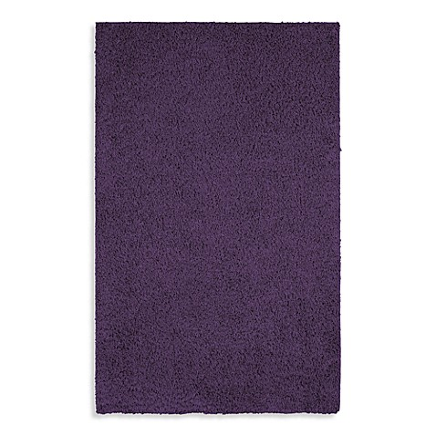 Shaw Affinity Collection Imperial Shag Rectangle Rugs in Purple