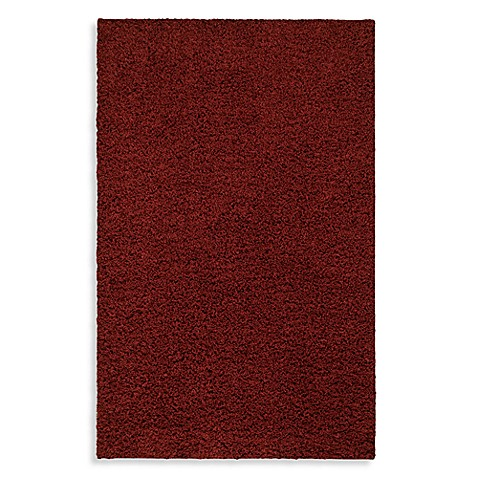 Shaw Affinity Collection Ruby Shag 8-Foot x 10-Foot Rectangle Rug