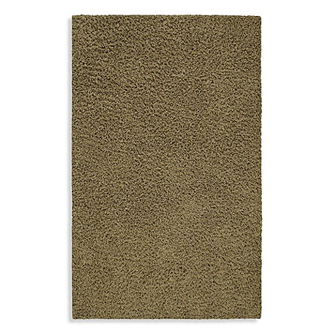 Shaw Affinity Collection Shag Rectangle Rugs in Thyme