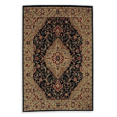 Shaw Accents Collection Antiquity Rugs in Ebony