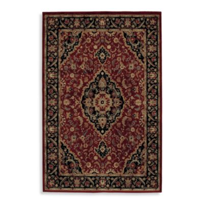 Shaw Accents Collection Antiquity Rugs in Garnet