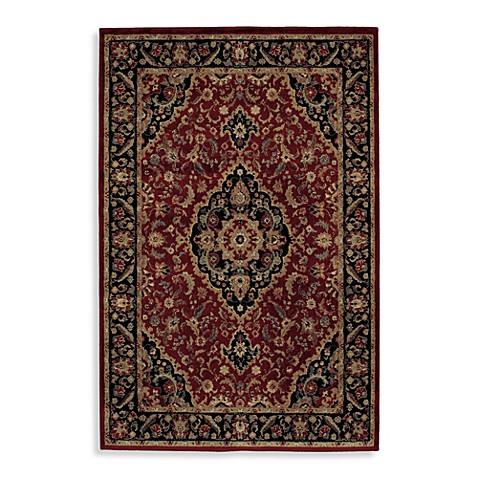 Shaw accents collection antiquity rugs in garnet bed - Shaw rugs discontinued ...