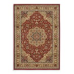 Shaw Inspired Collection Antique Manor Rugs in Red