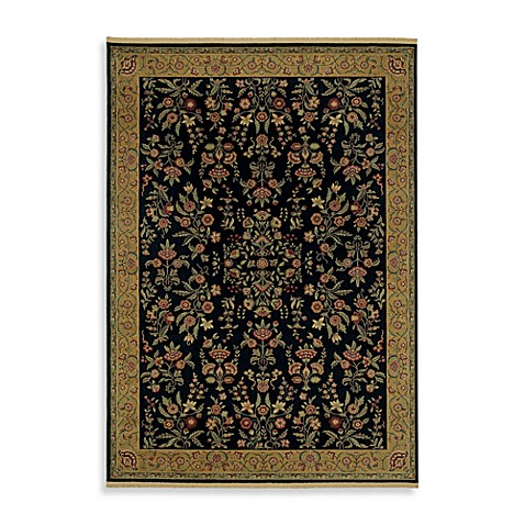 Shaw Century Collection 3-Foot 10-Inch x 5-Foot 9-Inch Beaumont Rug in Onyx
