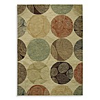 Shaw ModernWorks Collection Biometric Rugs in Beige