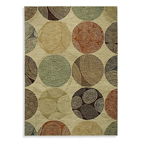 Shaw modernworks collection biometric rugs in beige bed - Shaw rugs discontinued ...