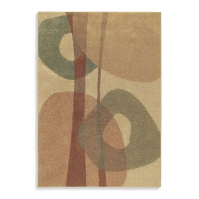 Shaw Origins Collection Cadence Rugs in Sand