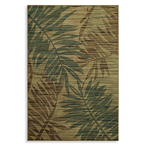 Shaw Accents Collection Calypso 5-Foot 3-Inch x 7-Foot 10-Inch Rug in Light Multi
