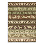 Shaw Timber Creek by Phillip Crowe Canyon Trail Rugs in Light Multi