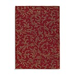 Shaw Origins Collection Diva Rectangle Rugs in Cayenne
