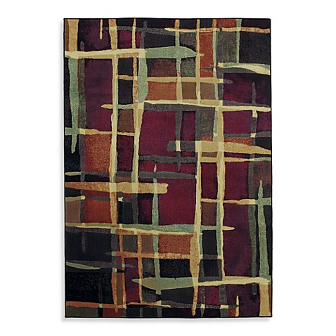 Shaw Reverie Collection Collage Multicolor Rugs