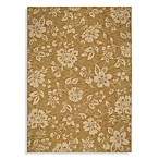 Shaw Moderworks Collection Delphine Gold 5-Foot 5-Inch x 7-Foot 9-Inch Rectangle Rug