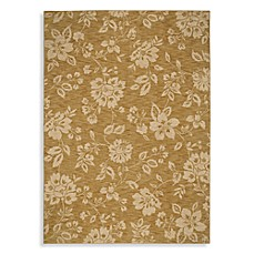 Shaw Moderworks Collection Delphine Gold Rectangle Rugs