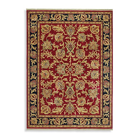 Shaw Jack Nicklaus Collection Emeralda 2-Foot6-Inch x 8-Foot Rug in Red