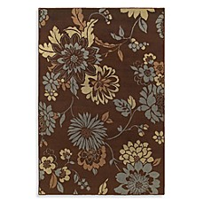 Shaw Concepts Collection Flora Vista Rugs in Brown