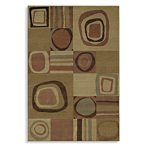 Shaw Accents Collection Galaxy Rectangle Rugs in Light Multicolor