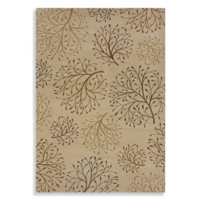 Shaw Inspired Design Collection Isabella Rectangle Rugs in Beige