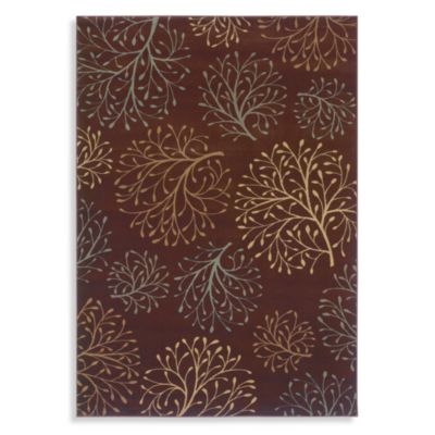 Shaw Inspired Design Collection Isabella Rectangle Rugs in Brown