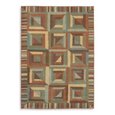 Shaw Reverie Collection Kaleidoscope Auburn Rugs