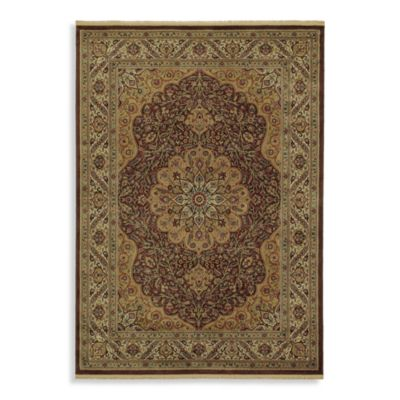 Shaw Century Collection Lancaster Rectangle Rugs in Espresso