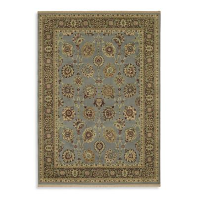 Shaw Century Collection Lenox Rectangle Rugs in Vintage Blue